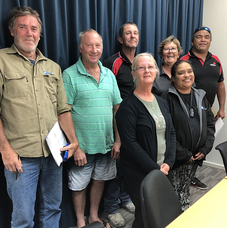 EyrePlus supervisors from Ceduna, Yalata and Oak Valley come together for professional development training